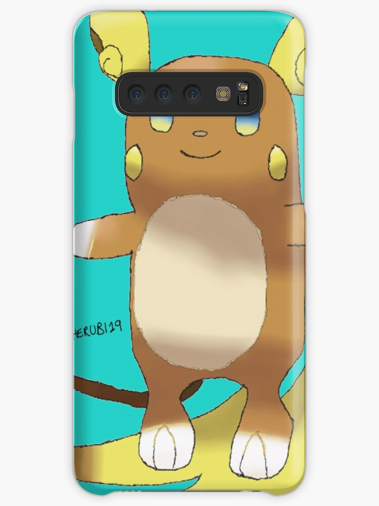 Alolan Raichu Caseskin For Samsung Galaxy By Cherubi19