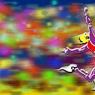 Long Jumper _ Olympic Sport 005 by Daniel H Chui