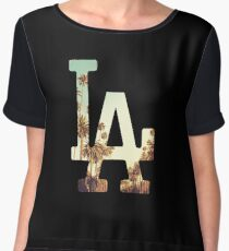 LA Dodgers 4 Women's Chiffon Top