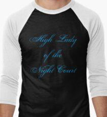 High Lady of the Night Court Men's Baseball ¾ T-Shirt