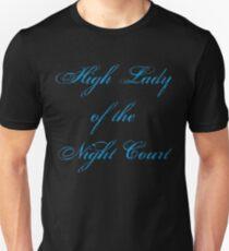 Hohe Dame des Nachtgerichts Slim Fit T-Shirt
