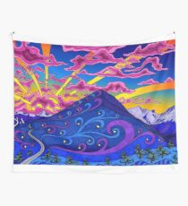 Psychedelic Landscape Wall Tapestry