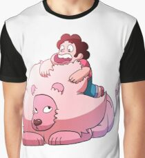Steven and Lion Graphic T-Shirt