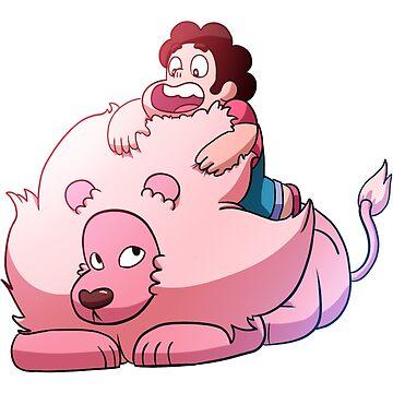 Steven and Lion by Bebatis