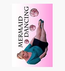 Mermaid Dancing - Fat Amy Photographic Print