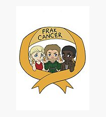 OTA: The Frak Cancer Campaign Photographic Print