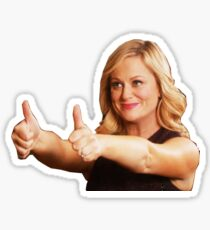 Leslie Knope - Thumb's Up Sticker