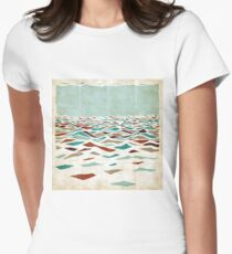 Sea Recollection Women's Fitted T-Shirt