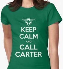 Call Carter! Women's Fitted T-Shirt