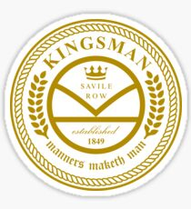 Kingsman the tailors  Sticker