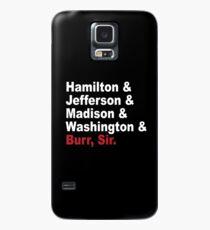 Funda/vinilo para Samsung Galaxy Padres fundadores y más- Hamilton