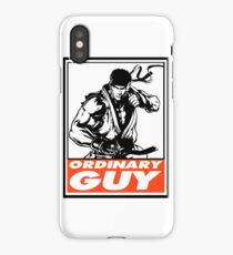 Ryu Ordinary Guy Obey Design iPhone Case/Skin