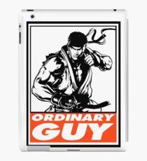 Ryu Ordinary Guy Obey Design iPad Case/Skin