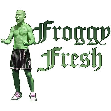 Froggy Fresh by LambVindaloo