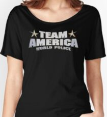 Team America Women's Relaxed Fit T-Shirt