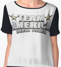 Team America Chiffon Top
