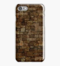 Stained Stone Wall iPhone Case/Skin