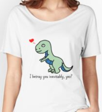 D'awww Inevitable Betrayal Women's Relaxed Fit T-Shirt