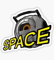 SPAAAACE (Portal 2) Sticker
