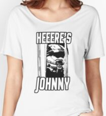 Heeere's Johnny - HALO Spartan 117 Women's Relaxed Fit T-Shirt