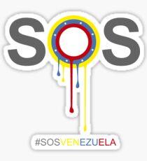 sos venezuela Sticker