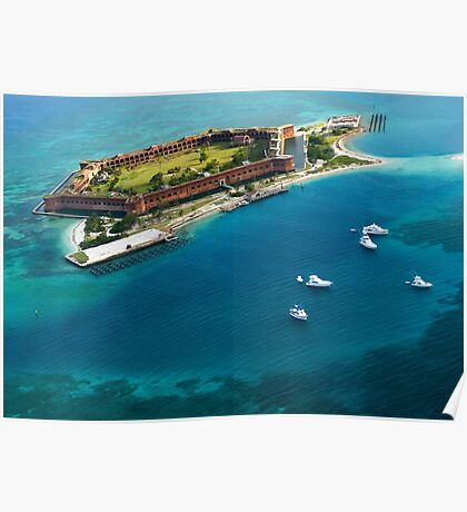 Dry Tortugas National Park, Fort Jefferson Poster