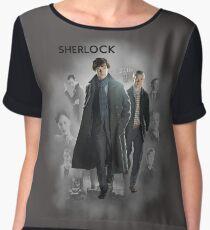 BBC Sherlock Chiffon Top