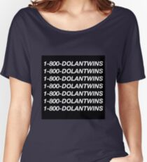 1-800-DOLANTWINS Women's Relaxed Fit T-Shirt