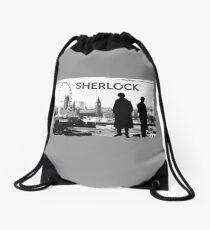 Sherlock Drawstring Bag