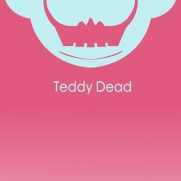TeddyDead logo tees by TeddyDead