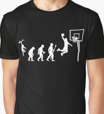 Basketball Evolution Funny T Shirt Graphic T-Shirt