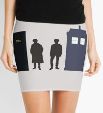 A Study In Time Mini Skirt