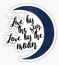 Love by the Moon Sticker