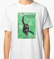 1961 Vietnam Gibbon Postage Stamp Classic T-Shirt