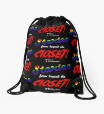 Stories From Beyond The Closet Drawstring Bag