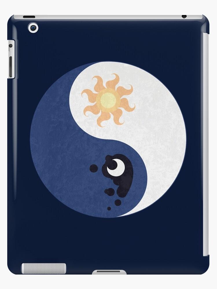 Celestia and Luna Yin Yang by Stephanie Greenwood