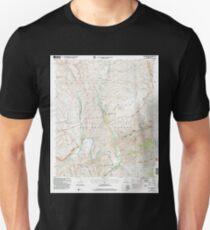 USGS TOPO Map Arizona AZ Dagger Peak 311067 2004 24000 Unisex T-Shirt