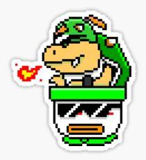 Cool Bowser Jr. Sticker