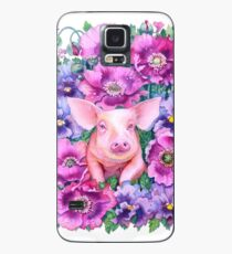 Year of the Pig - Chinese Zodiac Watercolour Case/Skin for Samsung Galaxy