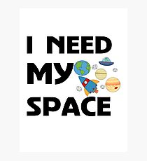Space for kids Photographic Print