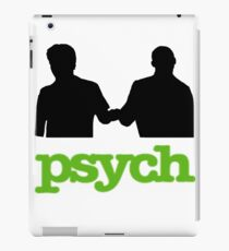 Psych Fist Bump iPad Case/Skin