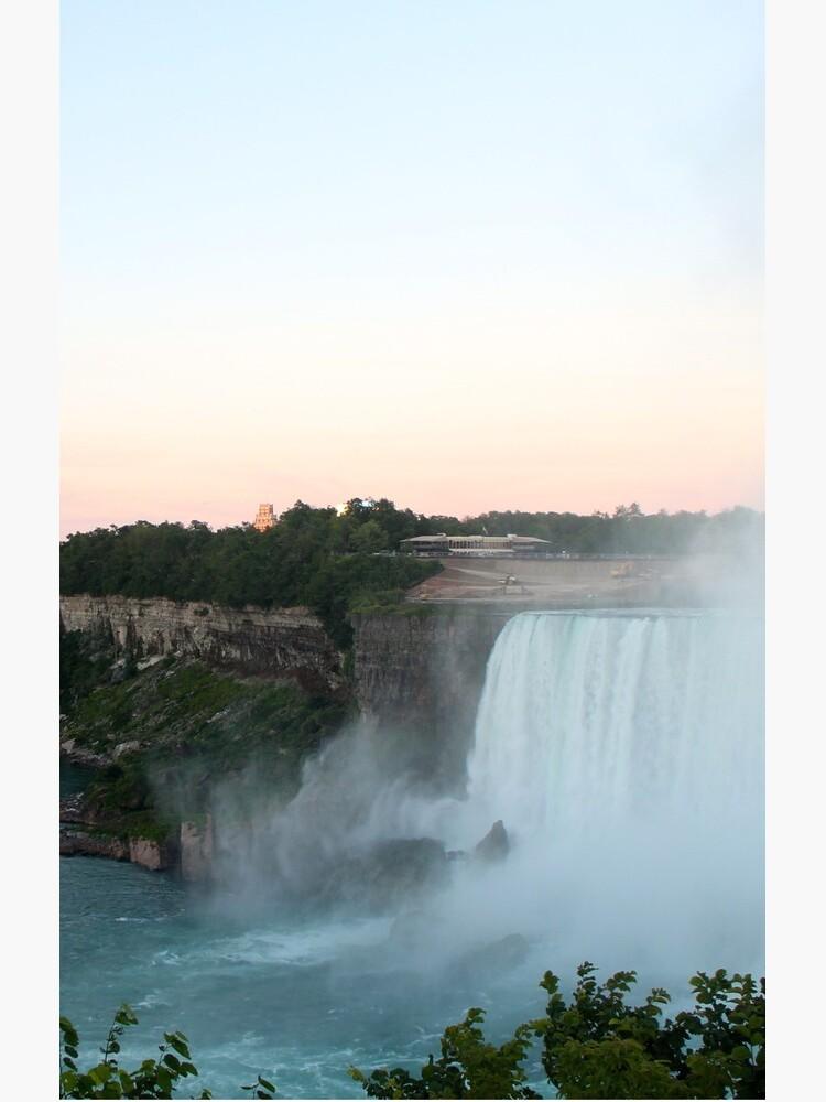 The View of Niagara Falls  by merging