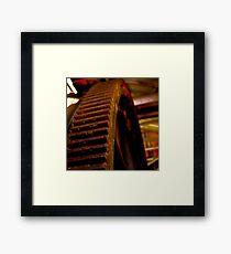 Mining Equipment Framed Print