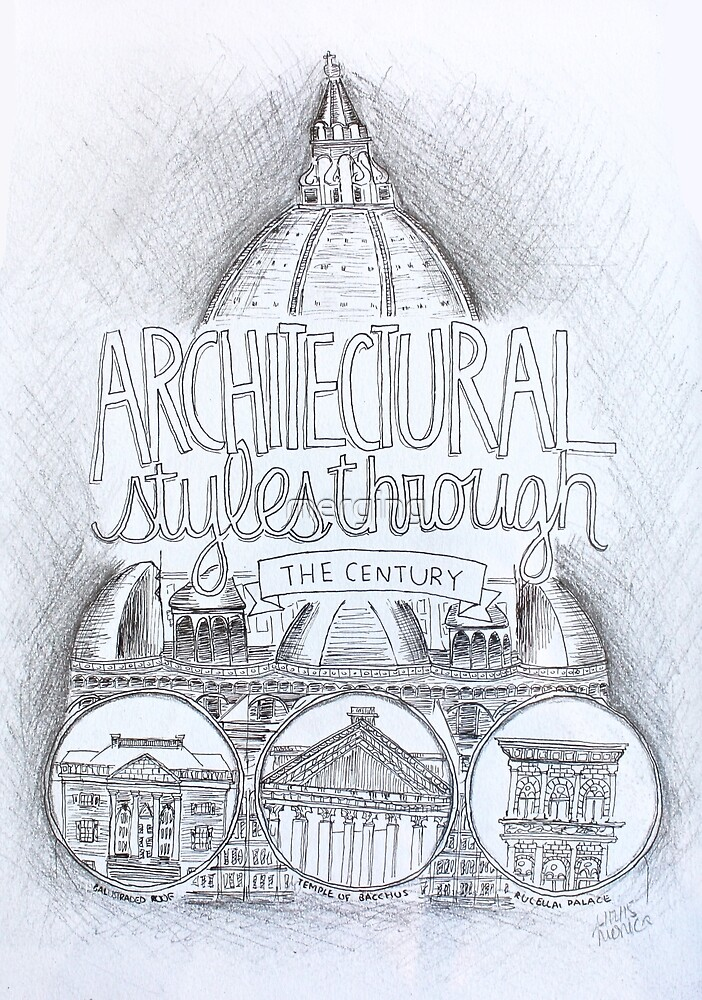 Architecture Through the Century by merging