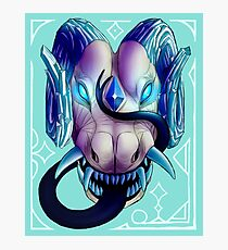 Blue-Eyed Dragon Photographic Print