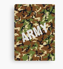 Army Canvas Print