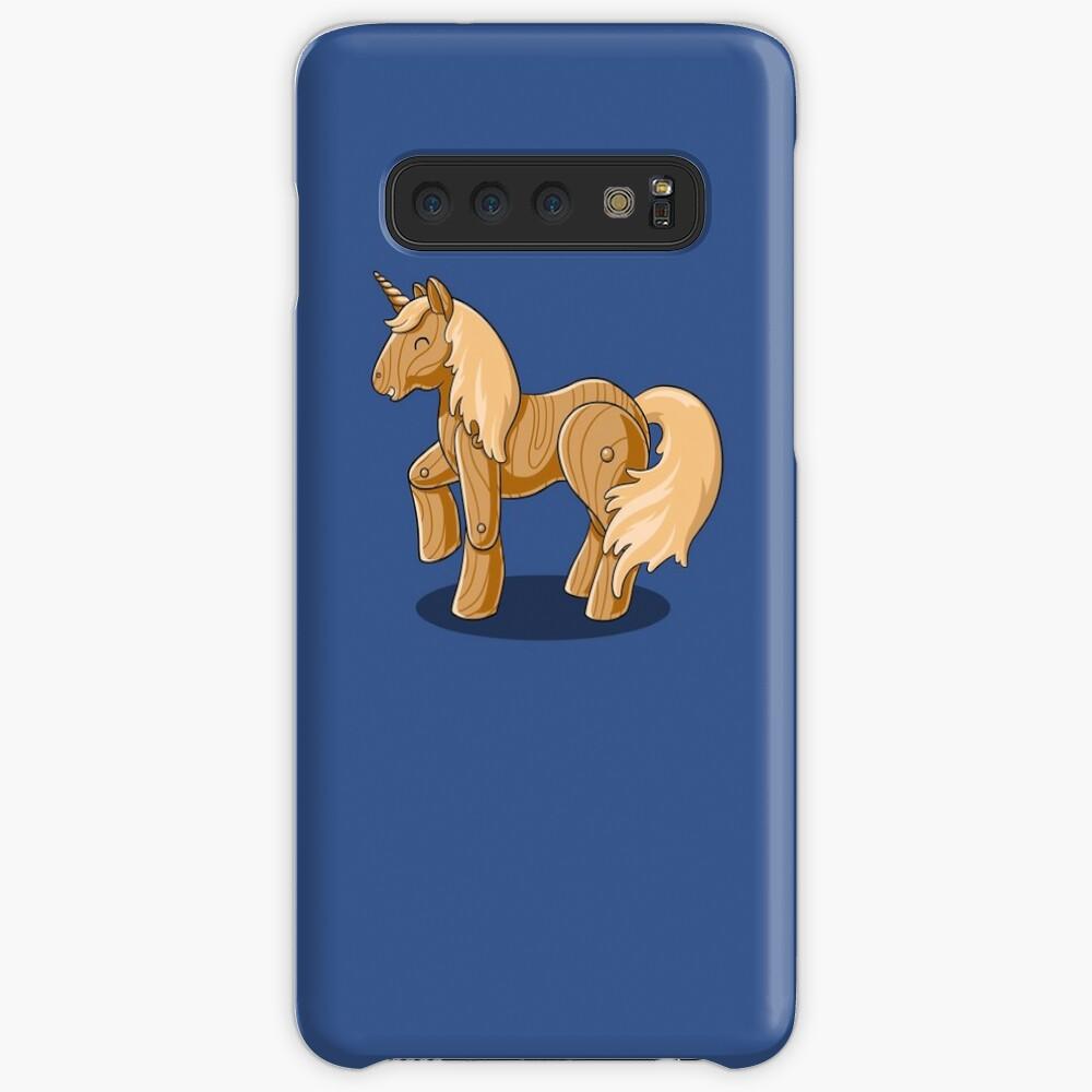 Unocchio the Wooden Unicorn Case & Skin for Samsung Galaxy