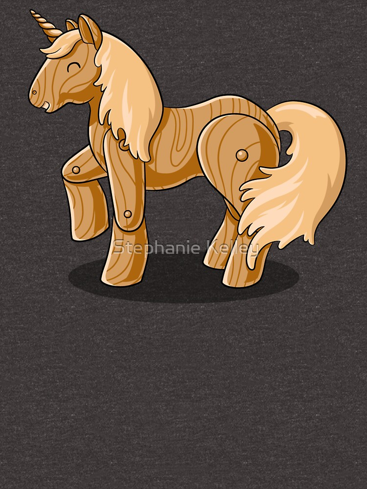 Unocchio the Wooden Unicorn by Aryon86