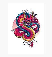Insurgent Dragon Photographic Print