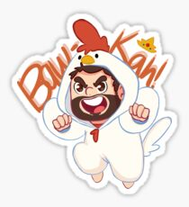 Chicken Wade! Sticker
